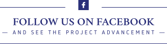 Follow Us on Facebook and see the project advancement