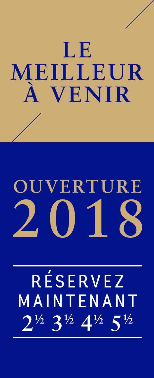 Ouverture 2018