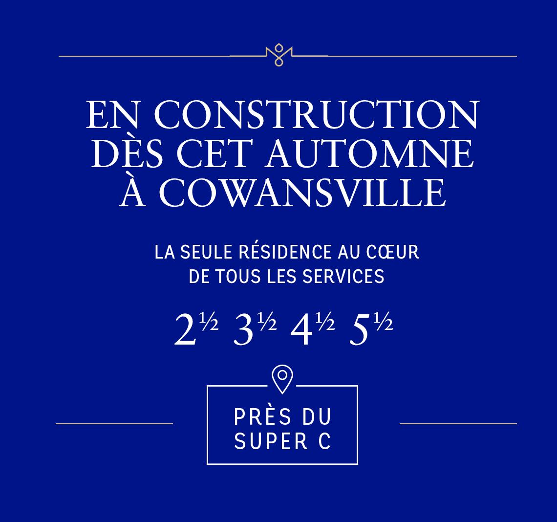 En construction dès cet automne à Cowansville
