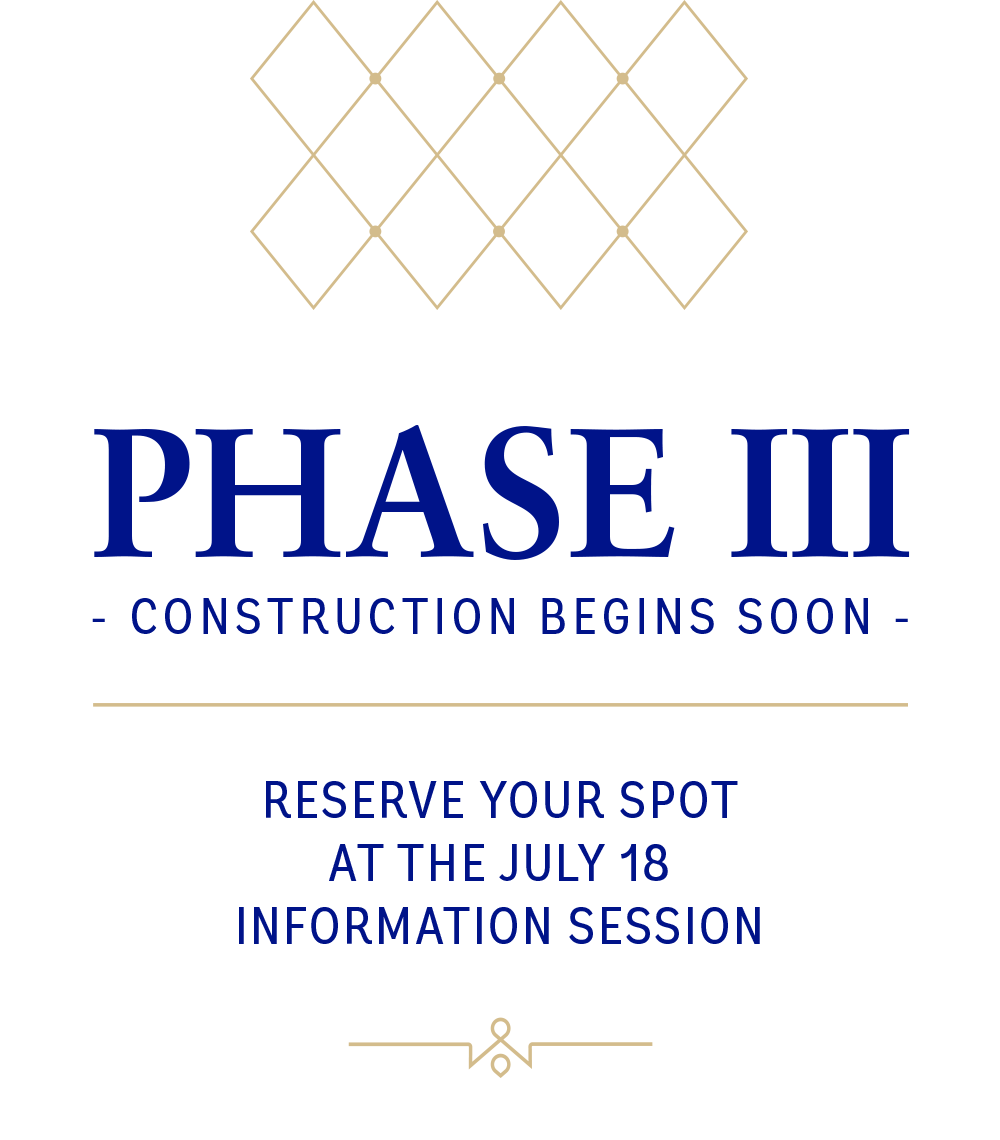 Phase 3 - Construction begins soon