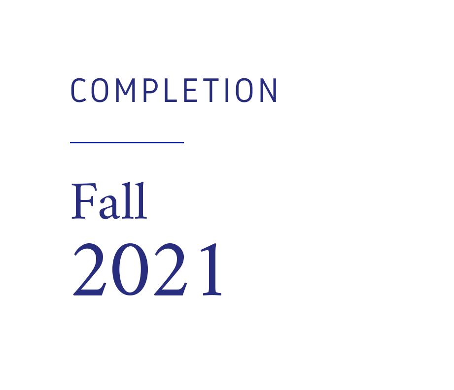 Renaissance Fleurimont - Completion Fall 2021